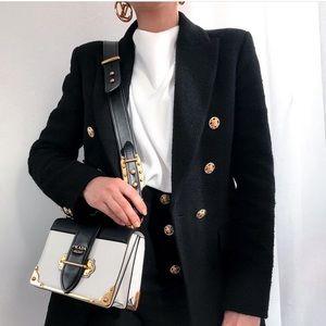 Zara Weave Jacket Size S NWT